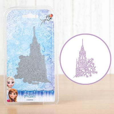 Disney Stanzschablone - Frozen Castle